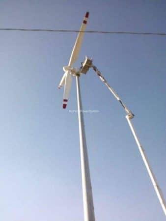 WindKing FD18 50kW Turbine